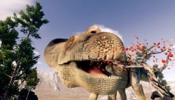 VrRoom - Feed a Titanosaur